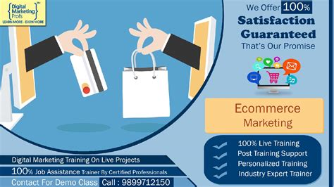Digital Marketing Course In Delhi With Placement by E Commerce Marketing Course Details Digital Marketing