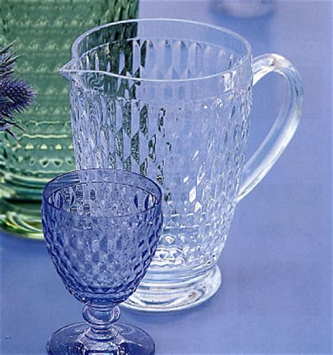 bicchieri villeroy e boch bicchiere acqua vetro azzurro