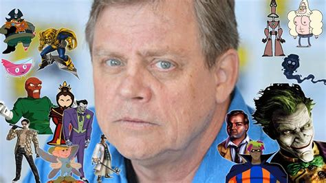 mark hamill movies list the many voices of quot mark hamill quot in animation video