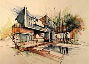 Architektur Haus Zeichnen : pin von sorour dehghani auf arch presentation pinterest skizzen architektur und haus pl ne ~ Markanthonyermac.com Haus und Dekorationen