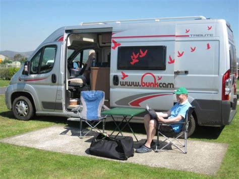 Bunk Campers Campervan Hire Scotland   Motorhome hire
