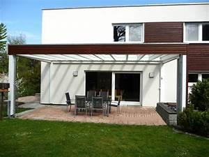Terrassen berdach an das haus angepasst terrassendach for Terrassenüberdach