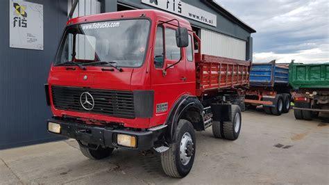 mercedes truck 4x4 truck mercedes benz 1928 4x4 tipper fiš trucks machinery