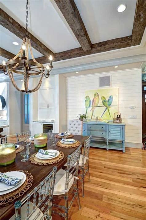 Coastal Style Dining Room With Exposed Beams And Nautical. Hotels In Chicago With Jacuzzi In Room. Screen Room Windows. Waiting Room Furniture. Vintage Room Divider. Decorating A Barn For A Wedding Reception. Dining Room Table And Chairs. Rooms To Rent In Elgin. Reclaimed Dining Room Table
