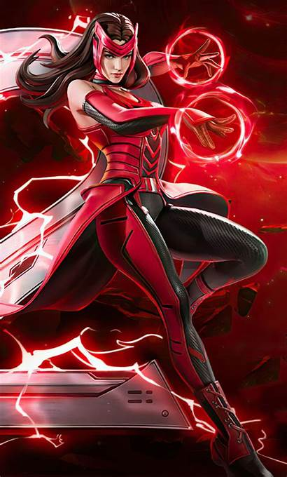 Scarlet Witch Marvel War Wallpapers 4k Iphone