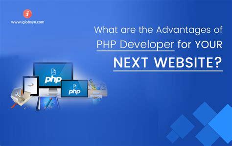 advantages  hiring php developer   website project