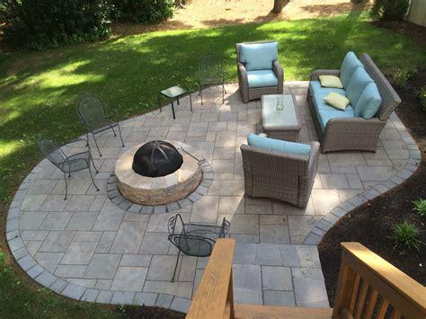 unilock patio designs patio out of unilock s beacon hill flagstone patios in