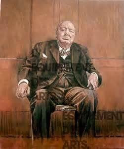 Sutherland Portrait Winston Churchill 80th