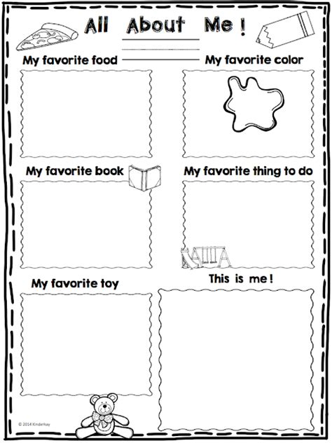 all about me mini poster freebie those kinders 535 | all about me poster.002