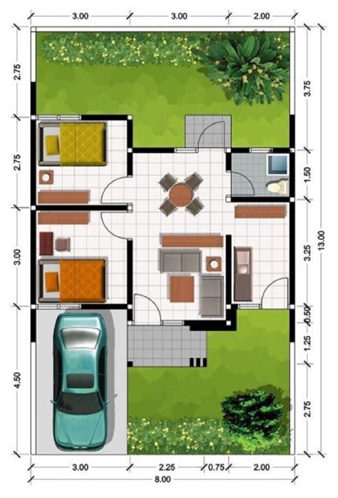 denah rumah minimalis type