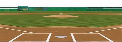 Baseball Softball Field Background Clipart Diamond Transparent