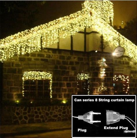 get cheap outdoor led icicle lights
