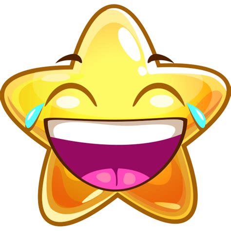 Laughing Star | Symbols & Emoticons