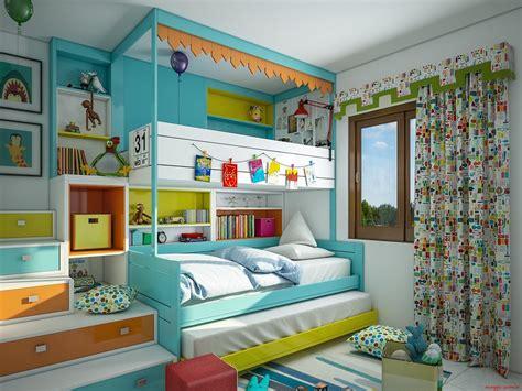 chambre 3 enfants des idées de chambres colorées pour enfants et