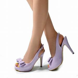 Light Purple Heels - Qu Heel