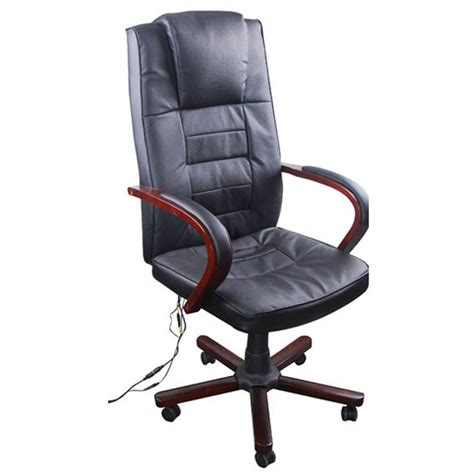 fauteuil de bureau massant la boutique en ligne fauteuil de bureau massant en cuir m 233 lang 233 noir vidaxl fr