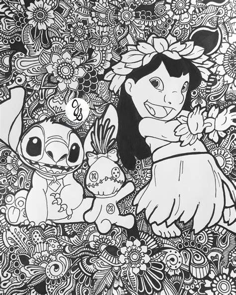 lilo and stitch floral design