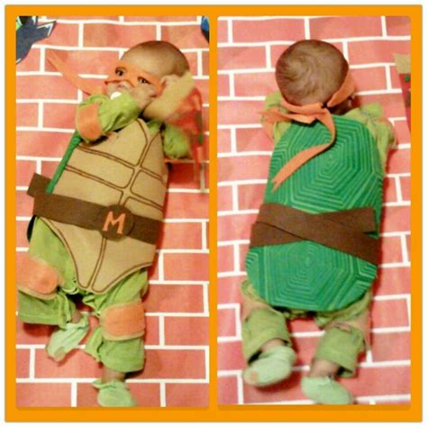 tmnt costume  baby bigdiyideascom