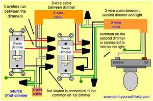 How Do I Wire A 3 Way Dimmer Switch