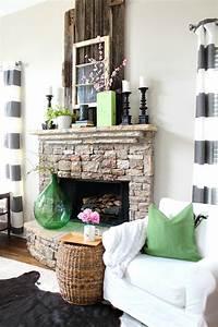 13, Stylish, Spring, Mantel, Decorating, Ideas