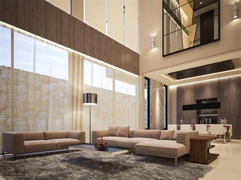 twin house  minimalist luxury daw interior