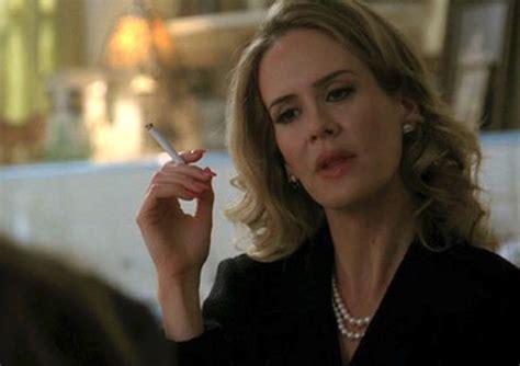 sarah paulson smokes  lot   roles complex