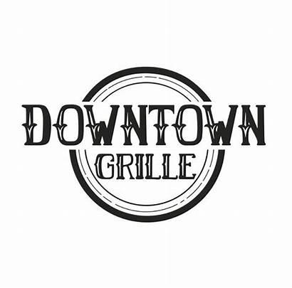 Downtown Grill Restaurants Grille Vibrant Orange Place