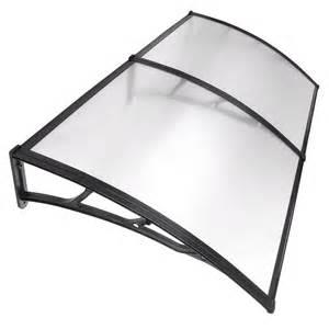 mm  piece window door awning outdoor uv rain cover patio canopy sun shield ebay
