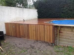Sol Pour Terrasse : plage de piscine pour piscine hors sol en bois exotique ~ Edinachiropracticcenter.com Idées de Décoration