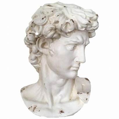 Statue Head Greek Transparent Sculpture Plaster Clipart