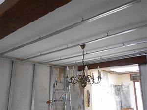 Suspentes Placo Tige Filetée : cloison et faux plafond 9 messages ~ Dailycaller-alerts.com Idées de Décoration