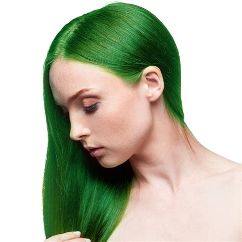 Hair Dye by Fudge Paintbox Semi Permanent Hair Dye Green Envy