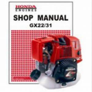 Honda Gx22 And Gx31 Engine Shop Manual