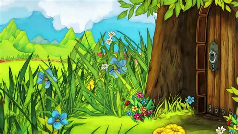 Forest Animated Wallpaper - animated forest stock footage 3738155