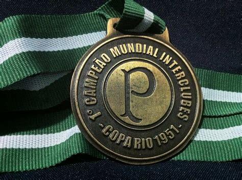 Medalha Campeão Mundial 1951 Palmeiras   Palmeiras campeão ...