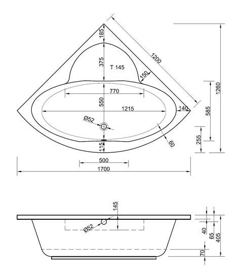 Badezimmermöbel Ums Eck by Eckwanne 120 X 120 X 40 5 Cm Bad Design Heizung Alles