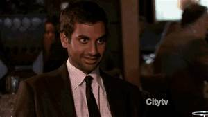 Reaction gif tagged with smile, Tom Haverford, Aziz Ansari ...