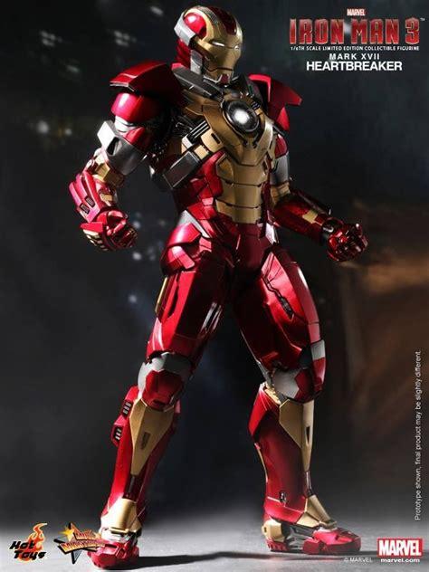 hot toys  iron man  mark xvii heartbreaker official