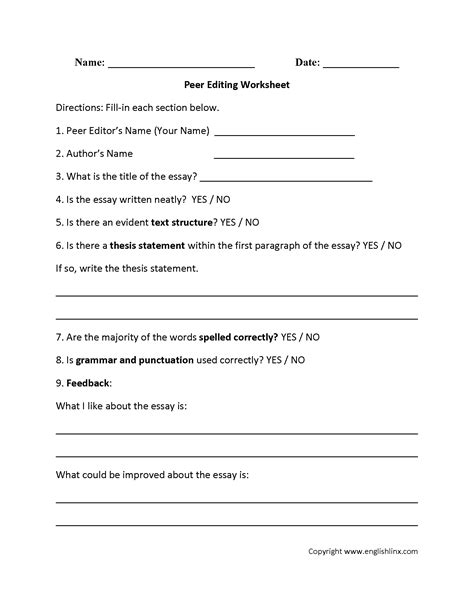 paragraph editing worksheets 8th grade worksheets for all