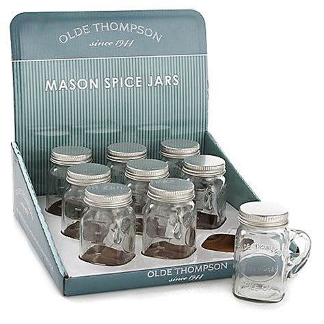 Olde Thompson Spice Rack Replacement Jars by Olde Thompson Storage Jar Bed Bath Beyond