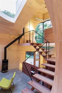 Ex Of In House By Steven Holl Plays With Spherical Voids