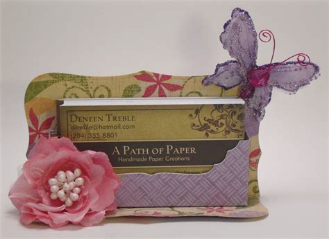 path  paper business card holder