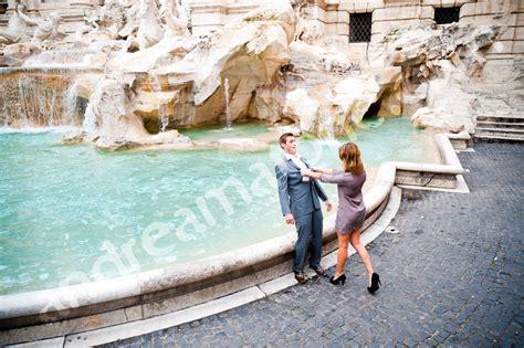 rome engagement photography engaged  italy