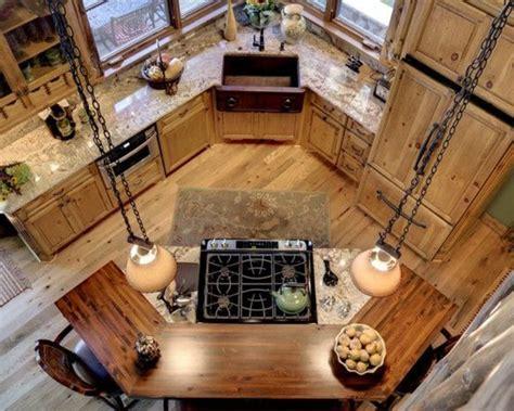 cuisine avec ilot centrale la cuisine arrondie dans 41 photos pleines d 39 idées
