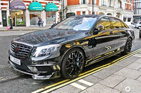 This is the type designation of a luxury multimedia sedan that brabus presents at the 2013 iaa in a word premiere. Mercedes-Benz Brabus 850 6.0 Biturbo V222 - 21 March 2017 - Autogespot