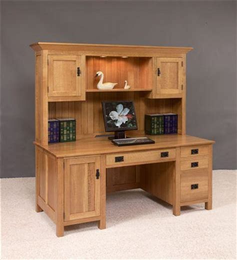 Desk With Hutch Plans by Build A Wood Computer Desk Friendly Woodworking Projects