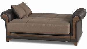 dream decor sofa bed in brown by casamode w options With sofa bed options