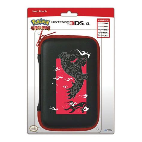housse protection sacoche rigide omega ruby 3ds xl