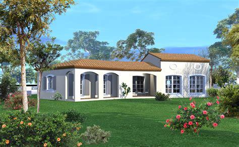 plan maison plain pied 3 chambre st drezery villa plain pied st drezery 2a villas