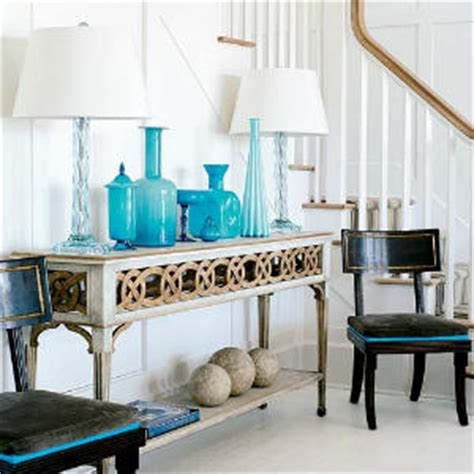 Turquoise Is Such A Beautiful Color For Home Decor  Cozy